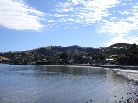 Sunny day in Akaroa