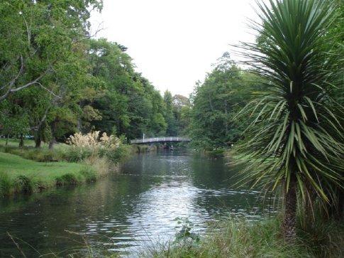 The Avon River.