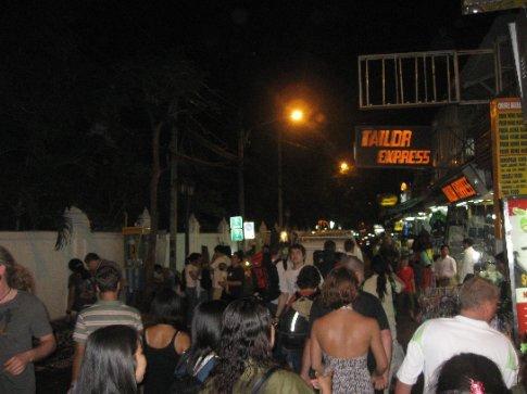 Busy Rambuttri Road