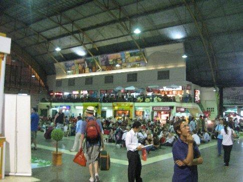 Bangkok's train station