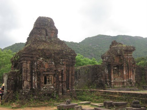 Some of the ruins at My Son