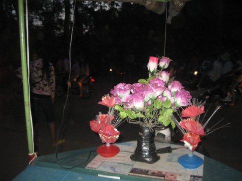 Our romantic evening tuk tuk