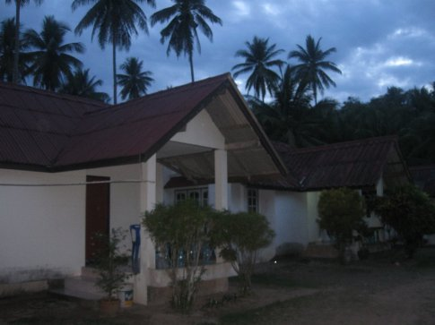 Our beach bungalow outside of Chumphon