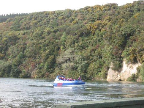 Huka Falls Jet Boat - using our free pass