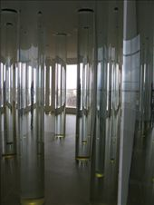 The Library of Water- columns filled with water from 24 Icelandic glaciers.: by escape_artist, Views[192]