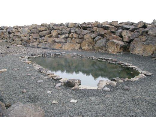 Visiting the nature baths!