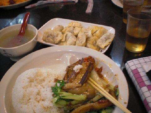 mmm... bovenin dumplings! ook erg lekker!!!!