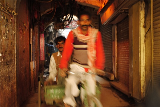 the same rickshaw puller back at work with his mate.