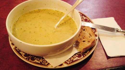 Cauliflower Soup @ Animal Orchestra, Parkville