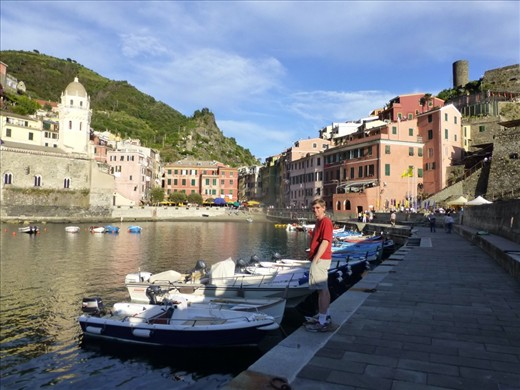 The harbour at Vernazza