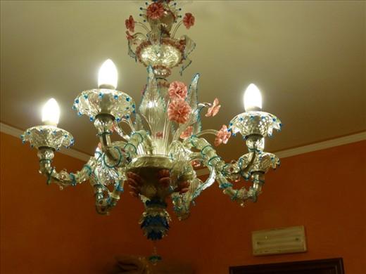 Wonders of Venetian glass in our roon