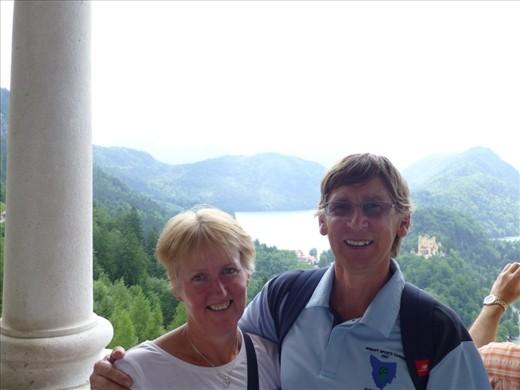 The view from Neuschwanstein