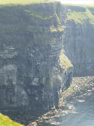 Cliffs of Moher.  See the people at the top?