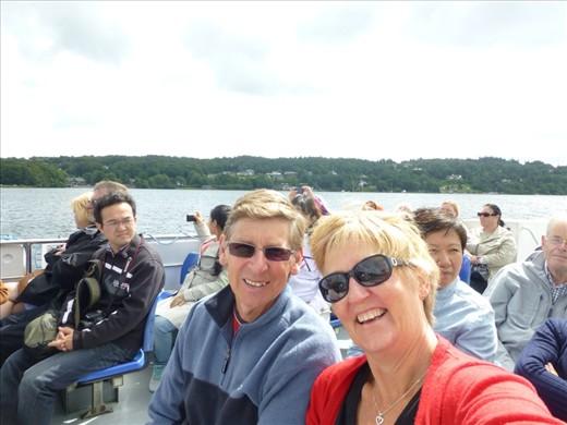 Us on Lake Windemere