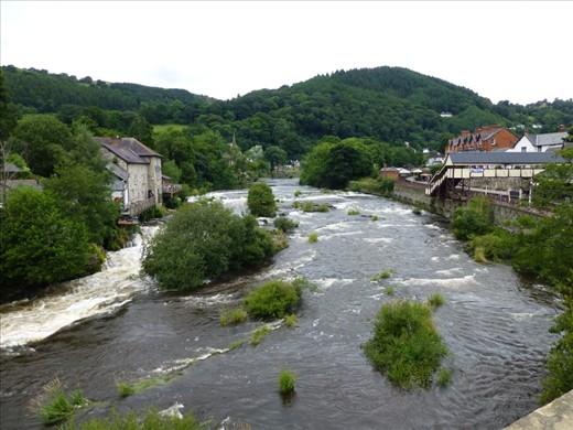 A view in Llangollen