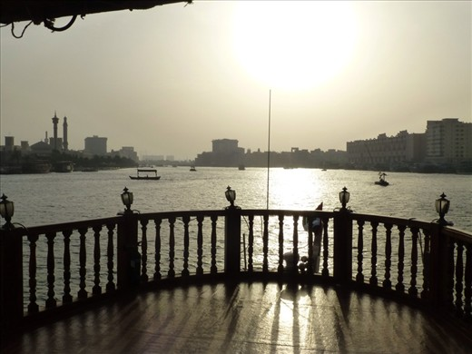 From our Dhow cruise on Dubai creek