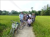 Bike riding in the rice paddies : by europe2013, Views[155]