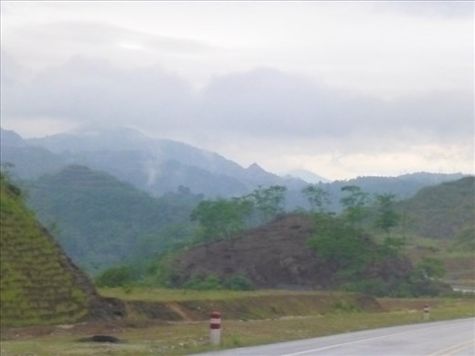 On the road to Sapa