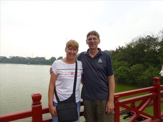 On the Red Bridge