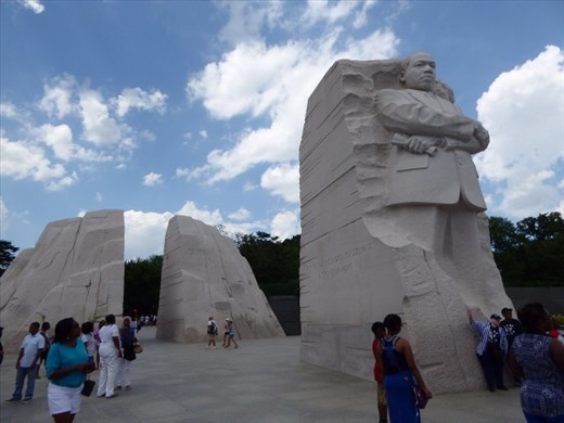 The Martin Luther King memorial