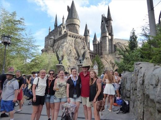 Last view of Hogwarts