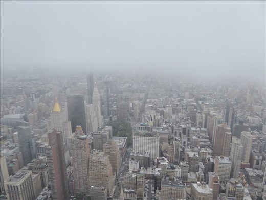 From the top of the Empire State