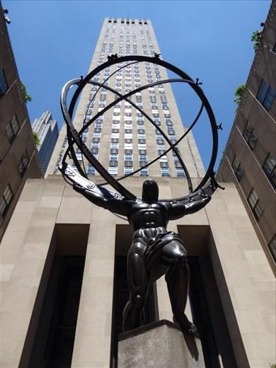 Atlas at the Rockefeller complex