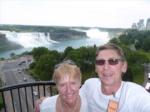 Niagara from lunch