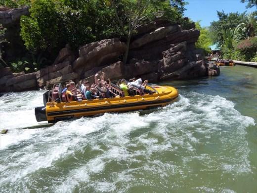 Water rides at Orlando