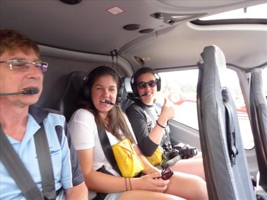 Our chopper ride