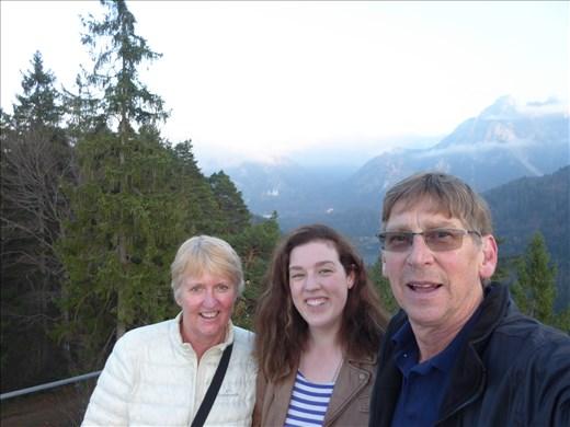 Neuschwanstein in the background - more views from Fussen
