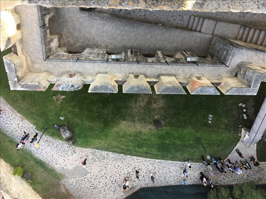 Looking down from the castle of Sao Jorge