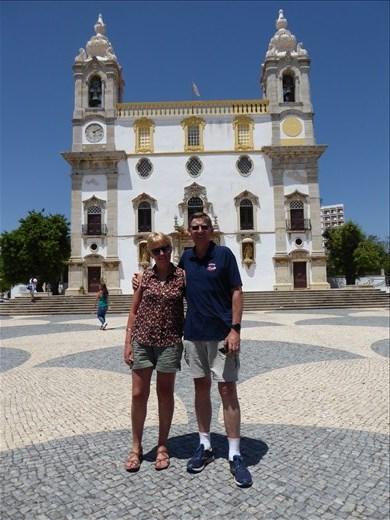 The Igreja do Carmo church