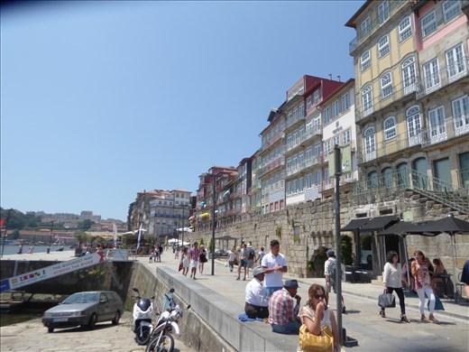 Dockside in Porto
