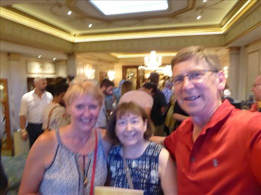 Ian, Carol & I at Hamilton!!