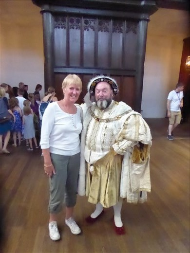 Henry VIII and me :)