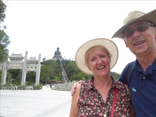 At the Buddha on Lantau