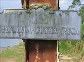 Crossing overland from Costa Rica into Panama...a very old bridge but pleased to be out of Sixiola!!: by explorerdotgone, Views[255]
