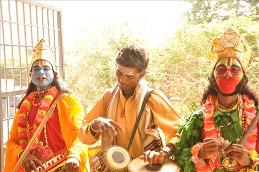 The street musicians of India