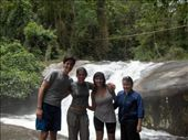 Luiz, Luisa, Marina & me (well equipped against borrachudos): by fabia, Views[680]
