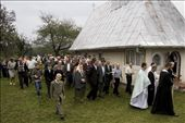 After an open air ceremony, the peasants circle the church for 3 times allowing the priests to open the way. The chorus, formed by the most talented villagers, accompany the mass while singing religious songs right behind the priests group.: by faith, Views[525]