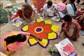 On day three,a colorful event of Kosi,Symbolic representation of Chhath Pooja.: by faizsikandar, Views[127]