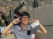 Another tourist at Osaka Castle: by fartandbelch, Views[135]