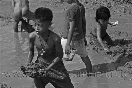 Tonle Sap lake, Phnom Phen, Cambodia, Indocina