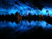 In the depth of the mountain... a natural cavern with stalacites. Reed Flute Cave. : by felix_and_stephanie, Views[374]