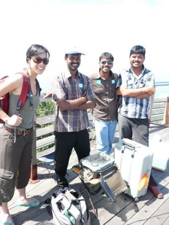 Film crew from India
