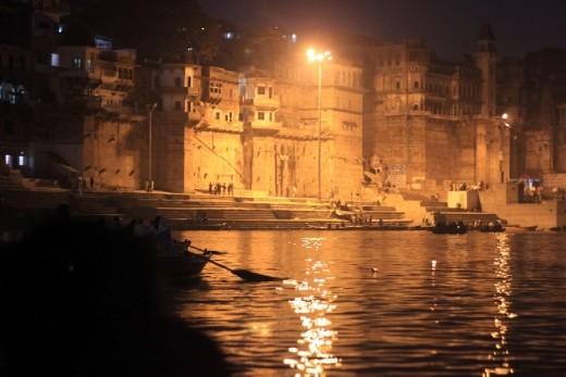 Varanasi de noite