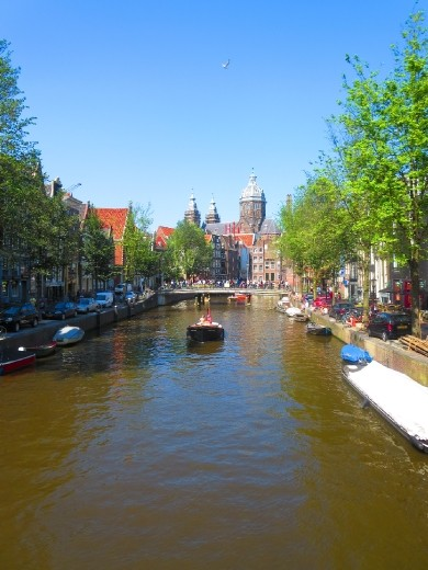 The canals of Amsterdam are totally everything you've heard of and more