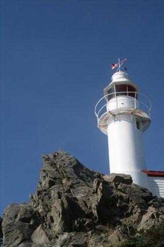 Lobster Cove lighthouse, Gross Morne NP