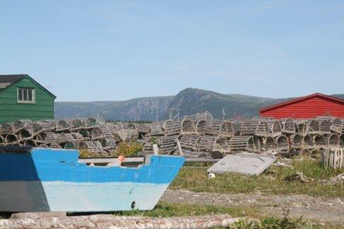 Lobstering village, Gross Morne NP